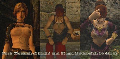 Dark Messiah of Might & Magic/ Nudepatch