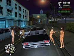Grand Theft Auto: San Andreas/ Naked Girl Gangs