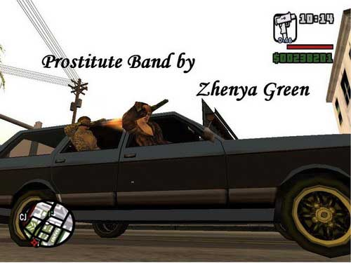 Grand Theft Auto: San Andreas/ Prostitute Band