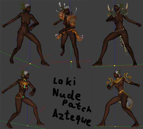Loki/ Nudepatch for Azteque Heroine