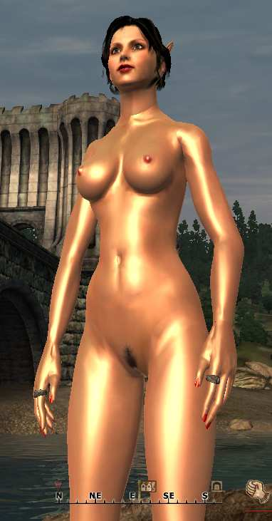 Oblivion/ Female Real Texture with CORWYN'S FANTASY FIGURE