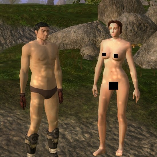 Neverwinter Nights 2/ Override Blue Kobolds Female Nudes 14
