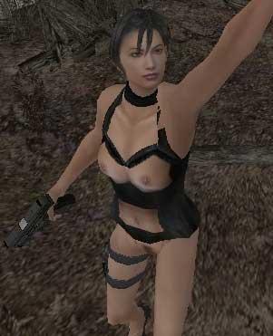 Resident Evil 4/ Semi Nude Ada