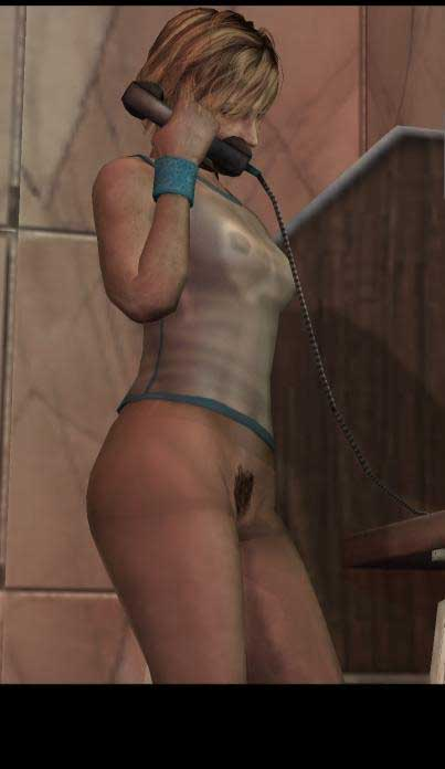 Silent Hill 3/ Nudepatch by tron