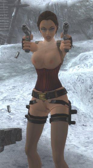 Tomb Raider : Anniversary/ Lara with corset & stockings