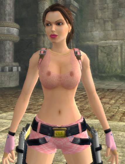 Tomb Raider : Anniversary/ HotPink by dark gene