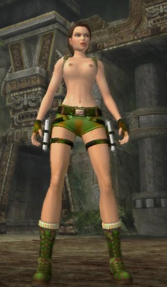 Tomb Raider : Anniversary/ Jungle Camo by dark gene