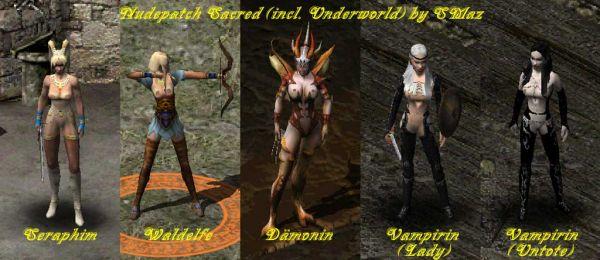 Sacred/ Nudepatch