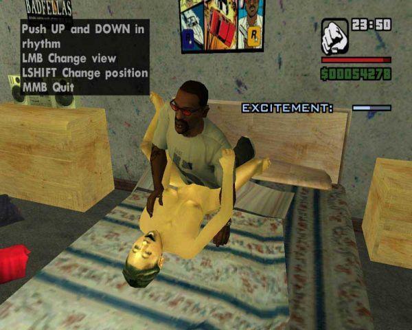 Grand Theft Auto: San Andreas/ Hot Coffee 2.1