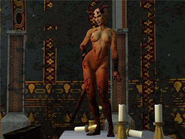 Dark Messiah of Might & Magic/ Xana Demoness