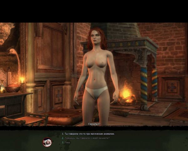 Witcher (Ведьмак)/ Triss Night Nude