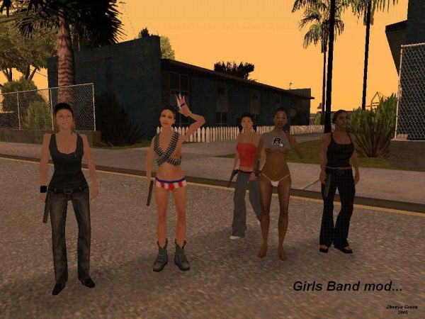 Grand Theft Auto: San Andreas/ Green Girls Band