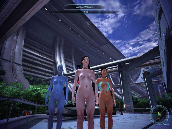 Mass Effect/ Nude patch by wavion