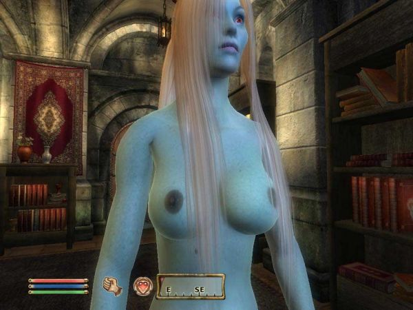 Oblivion/ Real Female Body for EyeCandy (new real skin and new real vagina)