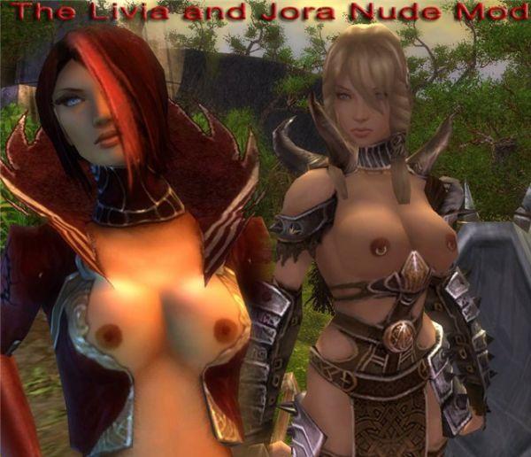 Guild Wars/Livia and Jora Nudepatch
