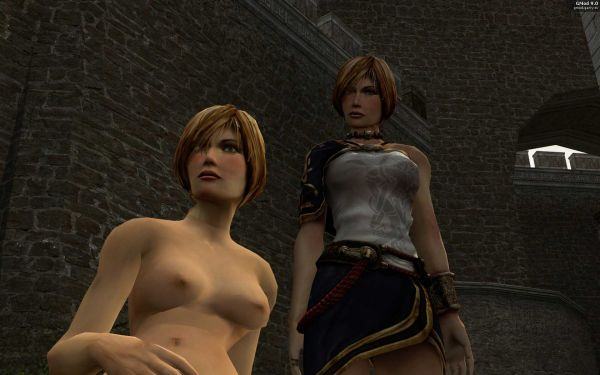 Dark Messiah of Might & Magic/ Nude Leanna
