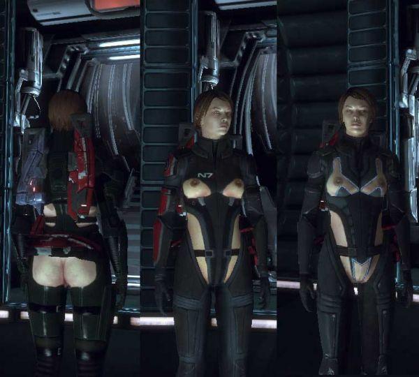 Mass Effect/ Naked Armor