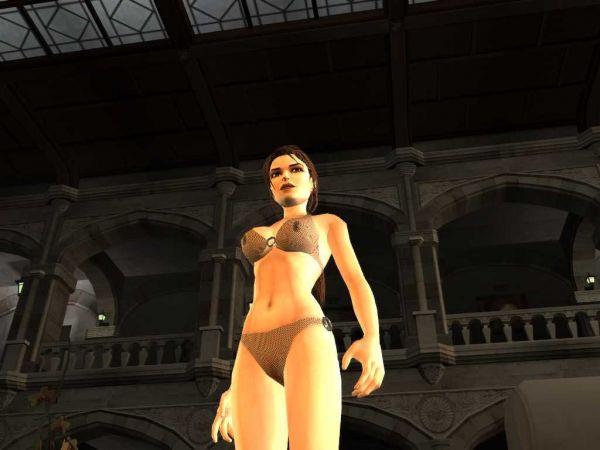 Tomb Raider : Legend/ Transparent swimsuit