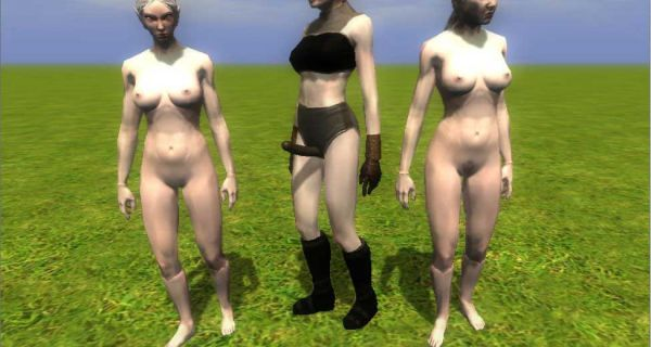 Neverwinter Nights 2/ Necrolord Full Nudes