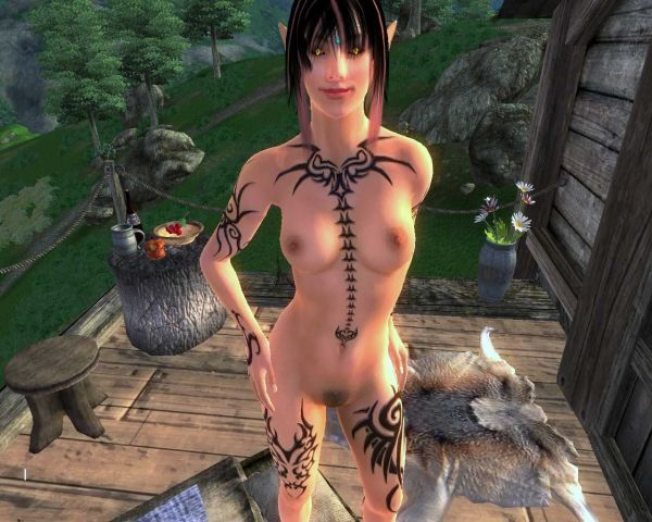 Oblivion/ BD Female Tattoed Bodies by Robert