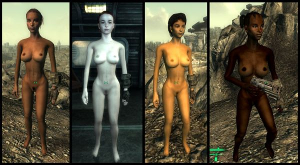 Fallout 3/ Malos Nude Body Replacer