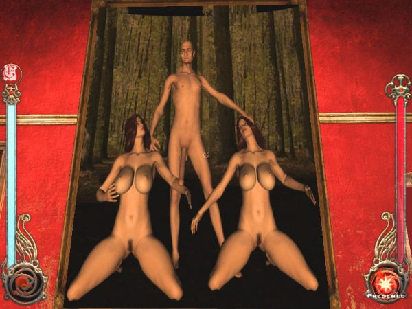 Vampire: The Masquerade – Bloodlines/ Jeanette and Therese room portrait