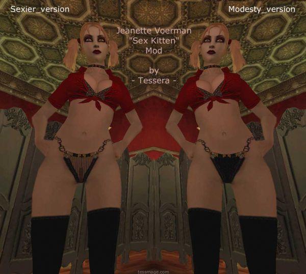"Vampire: The Masquerade – Bloodlines/ Jeanette Voerman ""Sex Kitten"" Mod by Tessera"
